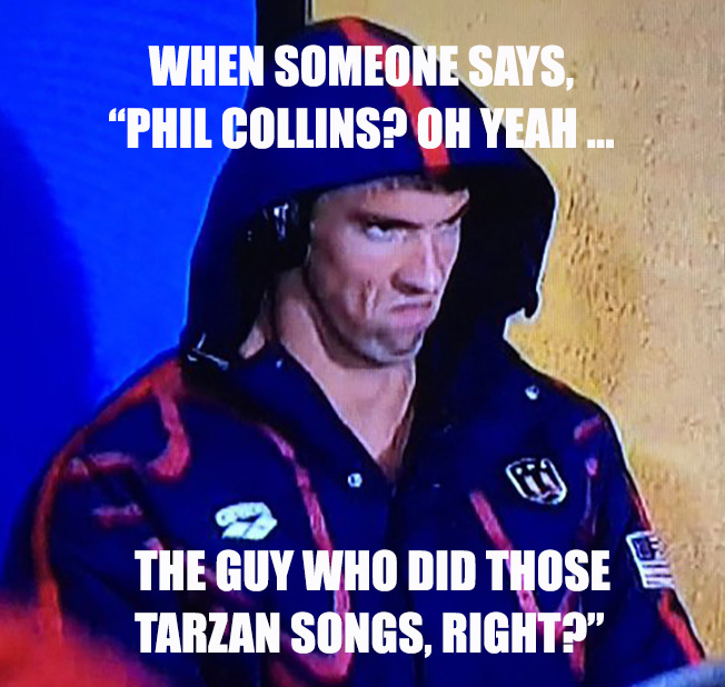 michael phelps phil collins